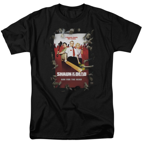 Shaun of the Dead-Poster   adult unisex t-shirt