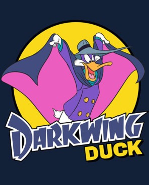 Disney -Darkwing Duck 100% Cotton High Quality Pre Shrunk Machine Washable T Shirt