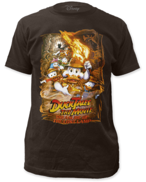 Disney-Duck Tales lost lamp 100% Cotton High Quality Pre Shrunk Machine Washable T Shirt