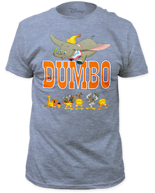 Disney-Dumbo 100% Cotton High Quality Pre Shrunk Machine Washable T Shirt