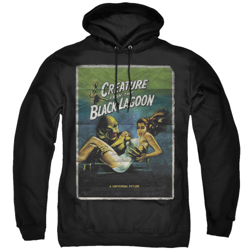 Creature from the Black Lagoon-Creature one sheet 100% Cotton High Quality Pre Shrunk Machine Washable hoodie