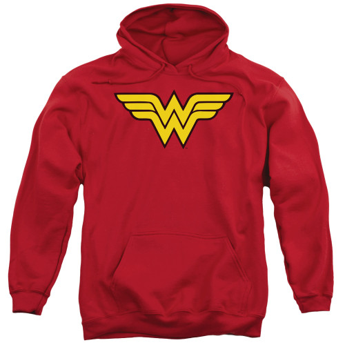 Wonder Woman Logo 100% Cotton High Quality Pre Shrunk Machine Washable Hoodie