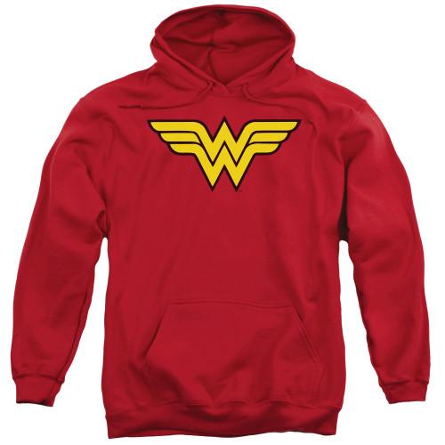 Wonder Woman Logo 100% Cotton High Quality Pre Shrunk Machine Washable Hoodie