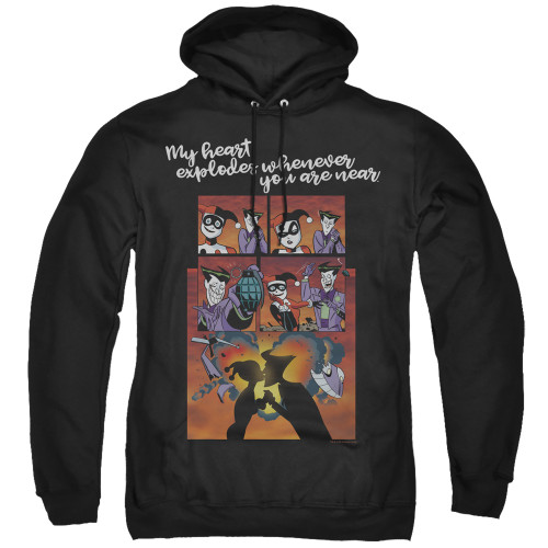 Harley Quinn-Explode  Hoodie 100% Cotton High Quality Pre Shrunk Machine Washable Hoodie