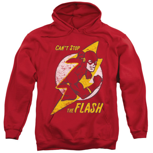 The Flash-Flash Bolt Hoodie 100% Cotton High Quality Pre Shrunk Machine Washable Hoodie