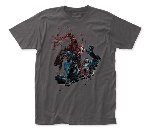 carnage vs venom 100% Cotton High Quality Pre Shrunk Machine Washable T Shirt