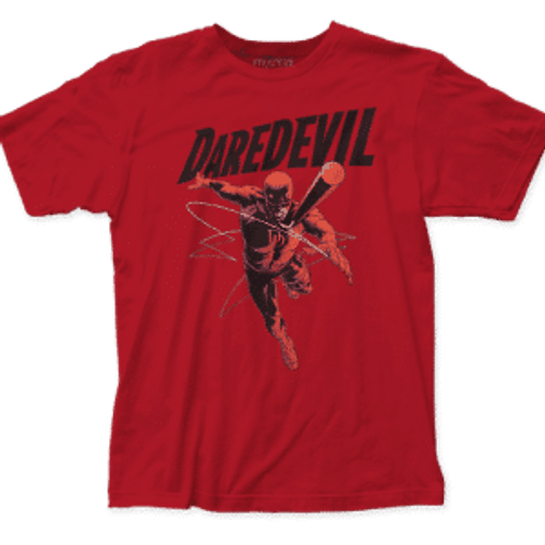 Daredevil-Attack 100% Cotton High Quality Pre Shrunk Machine Washable T Shirt