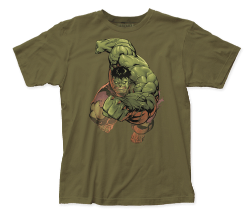 Hulk punch 100% Cotton High Quality Pre Shrunk Machine Washable T Shirt