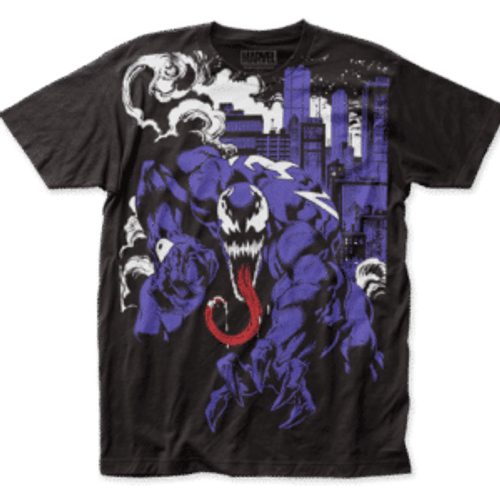 Venom-City Takeover 100% Cotton High Quality Pre Shrunk Machine Washable T Shirt
