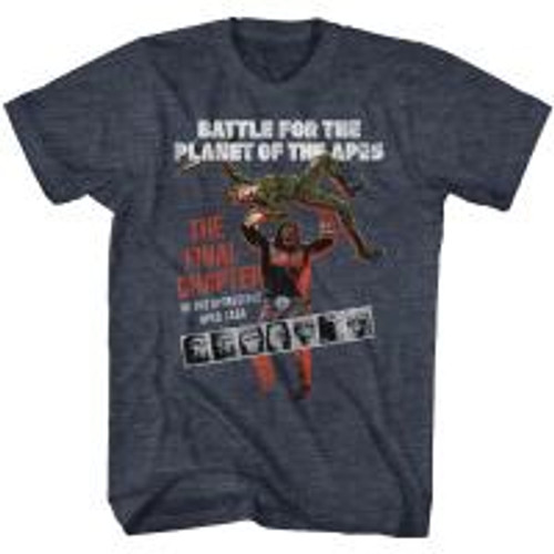 Planet of the apes-Final chapter 100% Cotton High Quality Pre Shrunk Machine Washable T Shirt