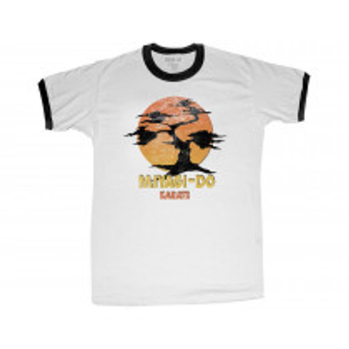 Karate Kid-Miyagi-Do 100% Cotton High Quality Pre Shrunk Machine Washable T Shirt