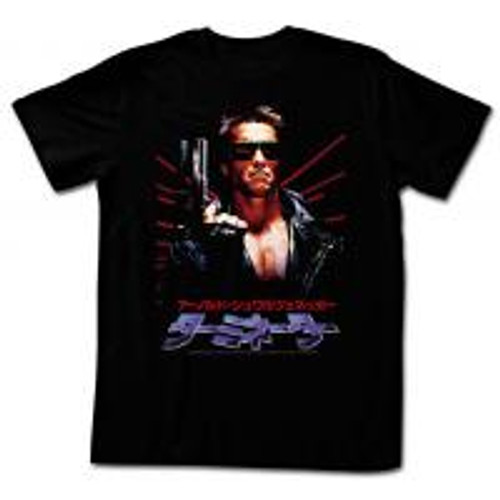 Terminator-Schwapan 100% Cotton High Quality Pre Shrunk Machine Washable T Shirt