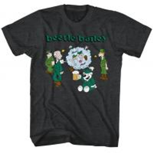 Beetle Bailey-Beetle Brawl 100% Cotton High Quality Pre Shrunk Machine Washable T Shirt