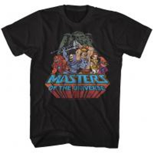 Master of the Universe-Register 100% Cotton High Quality Pre Shrunk Machine Washable T Shirt