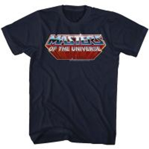 Master of the Universe-Logo 100% Cotton High Quality Pre Shrunk Machine Washable T Shirt