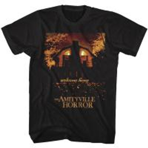 Amityville Horror-Welcome Home 100% Cotton High Quality Pre Shrunk Machine Washable T Shirt