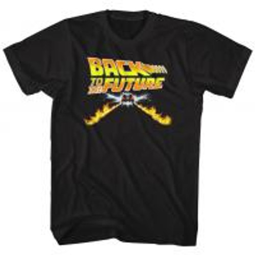 Back to the future-Btf car 100% Cotton High Quality Pre Shrunk Machine Washable T Shirt