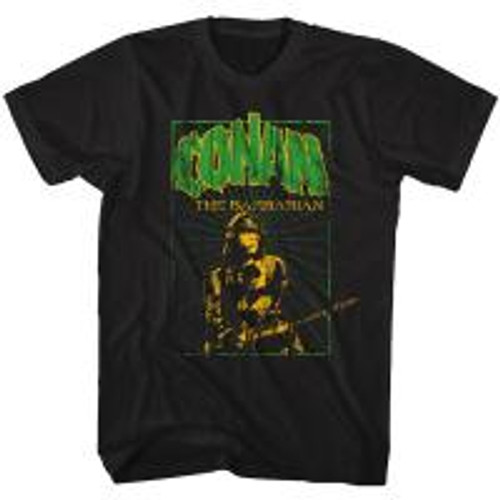 Conan-In the green 100% Cotton High Quality Pre Shrunk Machine Washable T Shirt