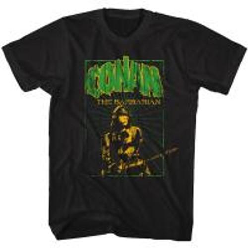 Conan-In the green 100% Cotton High Quality Pre Shrunk Machine Washable T Shirt