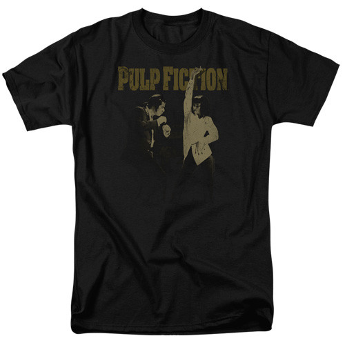 Pulp Fiction-I wanna dance 100% Cotton High Quality Pre Shrunk Machine Washable T Shirt