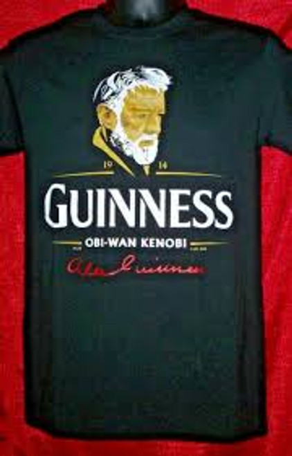 Star Wars-Alec Guinness Obi-Wan Kenobi 100% Cotton High Quality Pre Shrunk Machine Washable T Shirt
