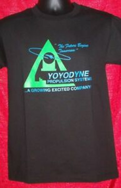 Buckaroo Banzai Yoyodyne Logo Adult Unisex T-Shirt - Available in Sm to 2x 100% Cotton High Quality Pre Shrunk Machine Washable T Shirt