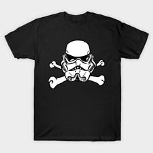Adult Unisex Star Wars Skull & Bonez T-Shirt -Available in Sm to xxL 100% Cotton High Quality Pre Shrunk Machine Washable T Shirt