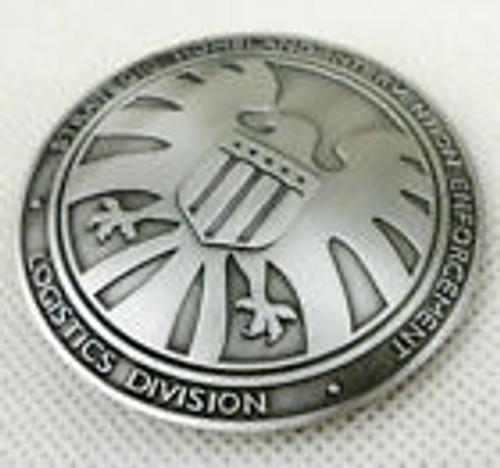 Marvel Avengers Agents Of Shield S.h.i.e.l.d. Metal Badge (Nick Fury) Pin