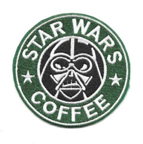 "Star Wars Coffee ""Starbucks Parody"" Embroidered Patch"