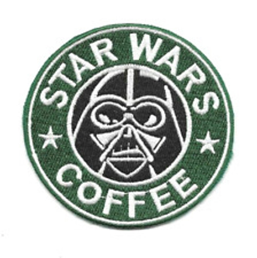 "Star Wars Coffee ""Starbucks Parody"" Embroidered Patch"