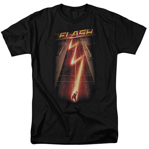 The Flash-Flash Ave. The Flash tv series 100% Cotton High Quality Pre Shrunk Machine Washable T Shirt