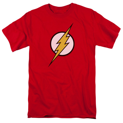 Flash-Flash Logo 100% Cotton High Quality Pre Shrunk Machine Washable T Shirt