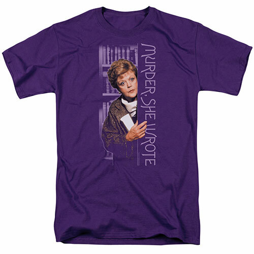 Murder she wrote-Around the corner 100% Cotton High Quality Pre Shrunk Machine Washable T Shirt
