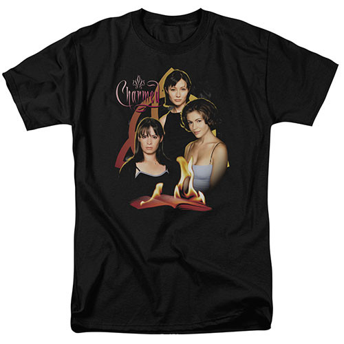 Charmed-Original Three 100% Cotton High Quality Pre Shrunk Machine Washable T Shirt