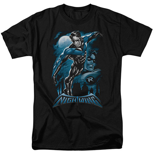 Nightwing-All grown up 100% Cotton High Quality Pre Shrunk Machine Washable T Shirt