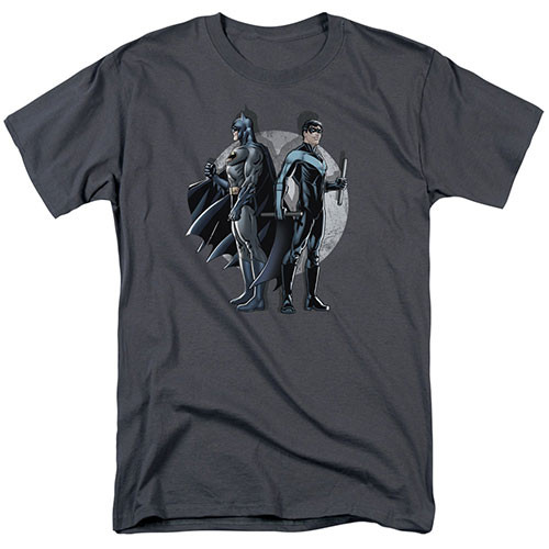Nightwing-Spotlight 100% Cotton High Quality Pre Shrunk Machine Washable T Shirt