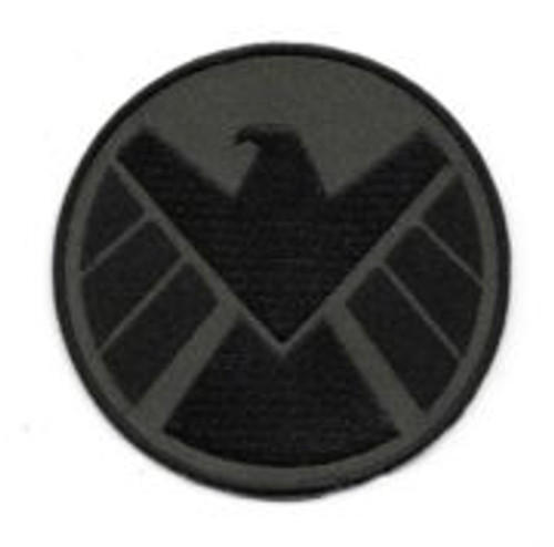 Agents of S.H.I.E.L.D. Military Green Eagle Logo Embroidered Patch, unused, embroidered patch measures 3.5″ wide and features the eagle logo of the Strategic Homeland Intervention Enforcement, Logistics Division (S.H.I.E.L.D.) as seen in the Avengers movies and the Agents of S.H.I.E.L.D. TV series. This is the military green eagle version.