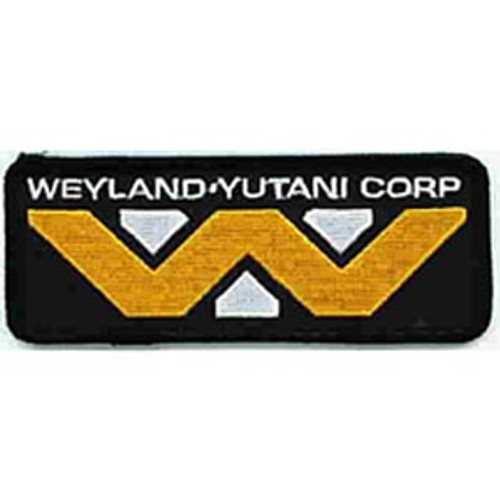 Alien movie Weyland-Yutani Corp. logo embroidered patch 3 1/2″ wide patch of the logo of the Weylen-Yutani Corporation as seen in the hit movie `Alien' and 'Aliens'.