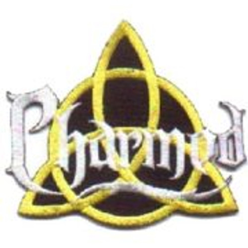 "Charmed tv show power of three name logo 3 1/2"" patch"
