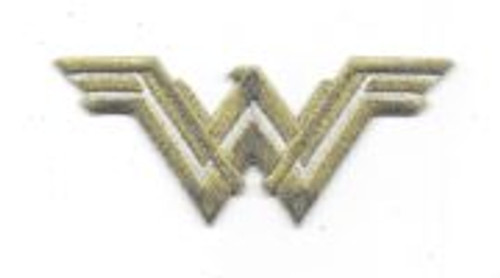 DC comics wonder woman movie new wonder woman chest logo foil embroidered patch This mint, 3.5″ wide embroidered foil patch features the new WW logo of Wonder Woman as seen in the hit Wonder Woman movie as well as Batman V Superman and the Justice League movies. This is a mint, unused patch with embroidered gold foil . It has a glue backing for easy application to a cloth surface.