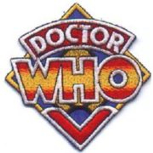 Dr Who TV series original logo embroidered patch This mint, 3 1/2″ wide embroidered patch, part of a set of four different patches, was produced in 1984 by the now defunct Glenwood Distributors. This one features an image of the original TV logo that has remained the most popular.