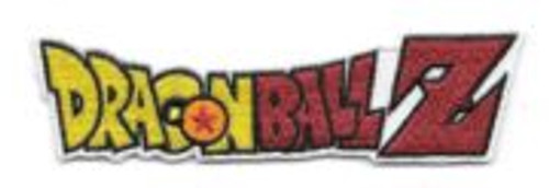 Dragon ball z japanese anime name logo embroidered patch  This is a 4″ wide embroidered patch, featuring the name logo from the popular Japanese anime' series Dragon Ball Z. This is a new, unused licensed patch, with iron on backing for easy application to a cloth surface, and comes in a sealed illustrated package.