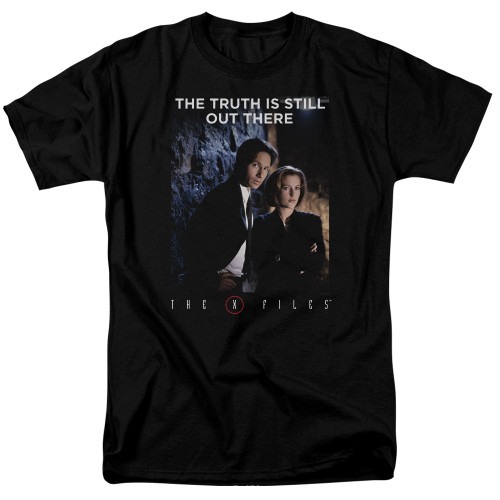 X-files  Teamwork Truth  100% Cotton High Quality Pre Shrunk Machine Washable T Shirt