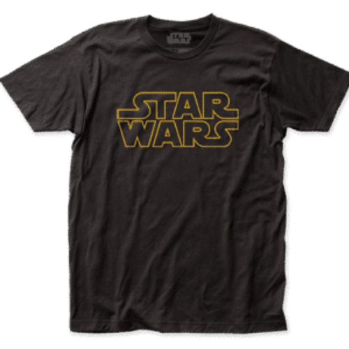 Star Wars-Logo 100% Cotton High Quality Pre Shrunk Machine Washable T Shirt