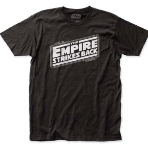 Star Wars-Empire Strikes Back Logo 100% Cotton High Quality Pre Shrunk Machine Washable T Shirt