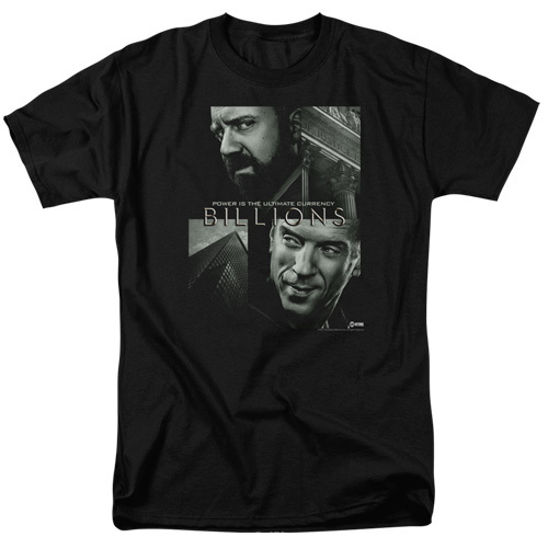 Billions-Currency Poster 100% Cotton High Quality Pre Shrunk Machine Washable T Shirt