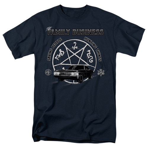 Supernatural-Saving People and Hunting 100% Cotton High Quality Pre Shrunk Machine Washable T Shirt