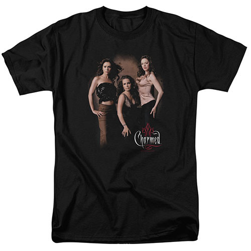 Charmed - Three Hot Witches 100% Cotton High Quality Pre Shrunk Machine Washable T Shirt