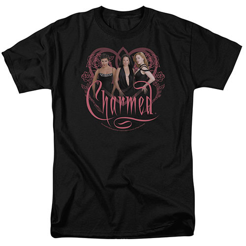 Charmed-Charmed Girls 100% Cotton High Quality Pre Shrunk Machine Washable T Shirt