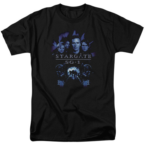 Stargate SG1-Command 100% cotton high quality pre shrunk machine washable t-shirt
